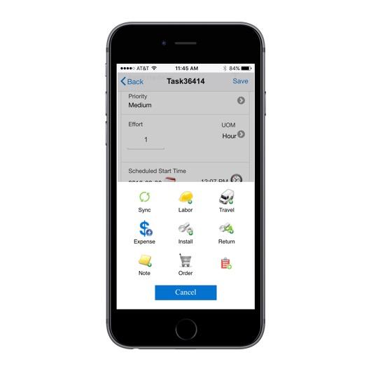oracle service cloud mobile app
