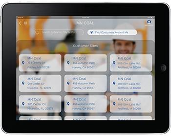 employee portal ipad construction
