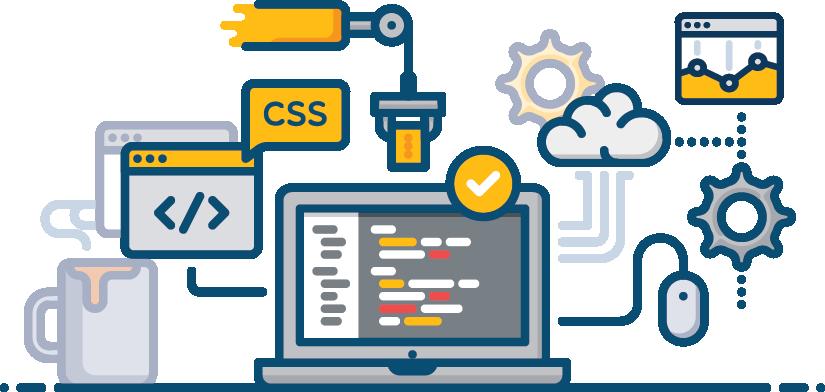 Custom Software Development illustration