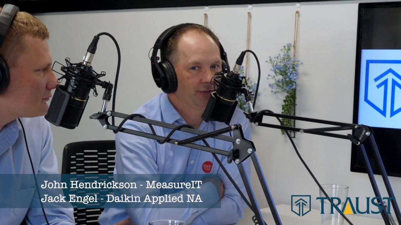 Jack Engel, Daikin Applied, and John Hendrickson, MeasureIT